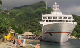 Aboard Hapag-Lloyd MS HANSEATIC in the South Seas