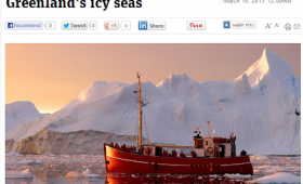 Adventures through Greenland's icy seas