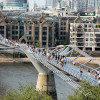 Struth! The world's most expensive wobbly bridge
