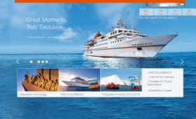 Hapag-Lloyd Cruises Launches Redesigned Homepage