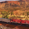 THE GHAN'S TIMING BUCKLES UNDER THE HEAT