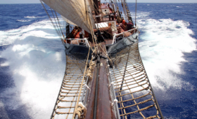 Tall Ship Sailing in Australia