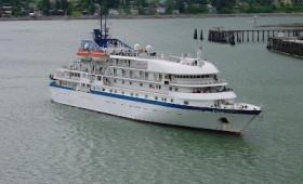 Sea Spirit (ex Spirit of Oceanus) Chartered to Quark