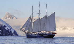 Incredible Arctic Odyssey aboard a classic three-masted schooner.