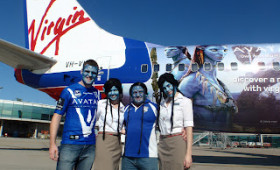 Virgin Blue takes AVATAR to the skies