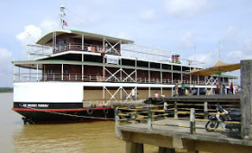 CRUISE BACK IN LUXURY TO DAYS OF BORNEO'S COLONIAL RAJ