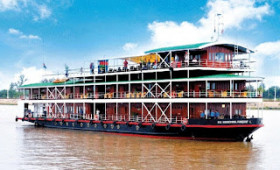MEKONG 'COLONIAL RIVER STEAMER' CRUISE THROUGH CAMBODIA AND VIETNAM