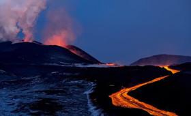 Tolbachik Volcano Eruption Continues