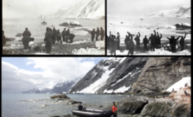 Historic Day, As Silversea Expedition Guests Land On Point Wild, Elephant Island, Antarctica