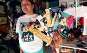 Struth! Morris for mayor – in between cat naps