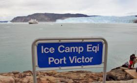 Greenland Highlights: Sun 5 August 2012. Eqi Glacier