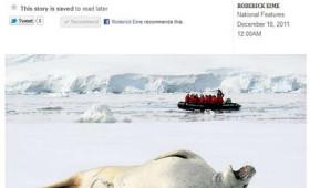 Suite dreams on Antarctic cruise