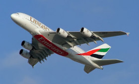 Emirates A380 on Malaysian Route