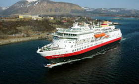 Hurtigruten Celebrates the MS Finnmarken's Return