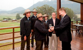 Wolgan Valley Honoured with Condé Nast Traveler's World Savers Award