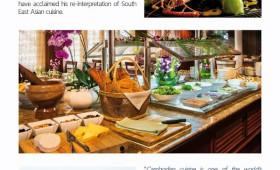 Pandaw News: Cambodia's Master Chef