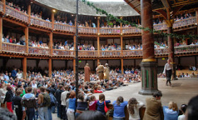 Shakespeare's Globe Theatre, a London literary time warp.