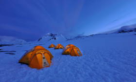 Pitch a Tent in Antarctica – a once-in-a-lifetime treat offered by Hurtigruten on Antarctica sailings