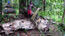 Wreck and relic hunting in the Solomons